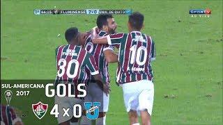 Gols - Fluminense 4 x 0 Universidad Católica (EQU) - 1º Jogo 2ª Fase Sul-Americana 2017 - 29/06/2017Narração: Júlio Oliveira, Comentários: EdinhoEstádio: Maracanã