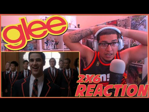 BLAINE HAS ARRIVED! | Glee 2x6 REACTION | Season 2 Episode 6