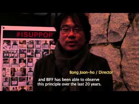#ISUPPORTBIFF_봉준호 BONG Joon Ho