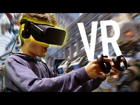 Mega in Virtual Reality erschrocken...😨 | Oskar