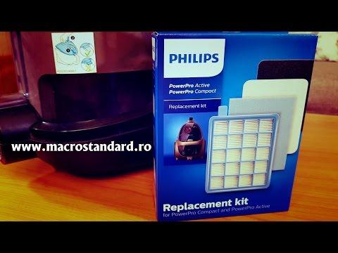 De ce am schimbat dupa mai mult de doi ani filtrele la Aspiratorul Philips PowerPro Compact