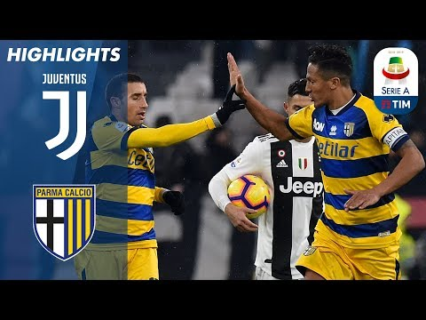Juventus 3-3 Parma | Gervinho Snatches Late Draw After Ronaldo Double | Serie A видео