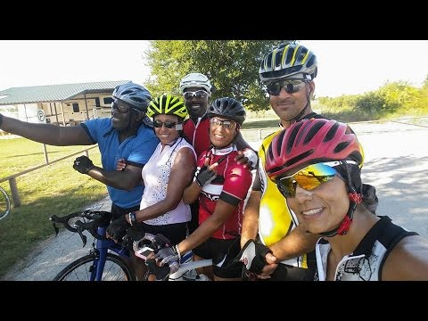 IRON RIDERS DALLAS  CYCLING CLUB,  RIDE TO BENBROOK, BY WAY OF TRINITY TRAILS08/06/2016