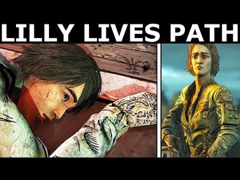 Lilly Lives Path - The Walking Dead Final Season 4 Episode 4: Take Us Back (Telltale Series)