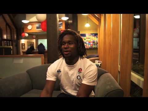 Video: Q&A with England winger Marland Yarde