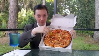 Video Papa John's Bacon Cheddarburger Pizza - Food Review MP3, 3GP, MP4, WEBM, AVI, FLV Juli 2018