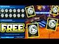 GIVING FREE PAINTED DRACOS TO STRANGER IN ROCKET LEAGUE!!