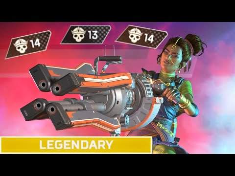 RAMPART is CRAZY AT CLUTCHING in Apex Legends