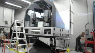 B737NG Full Motion Flight Simulator