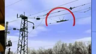 Опасные места на контактной сети (РФ)