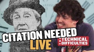 Ruth Belville and Time Balls: Citation Needed LIVE, Part 1