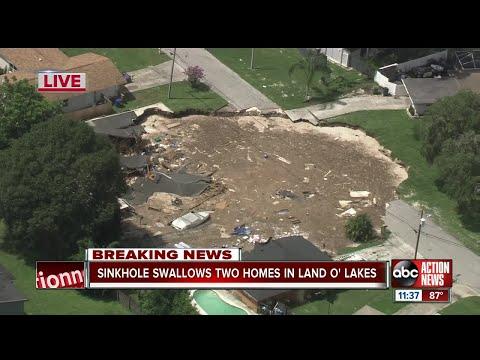 Гигантская воронка уничтожает город в США