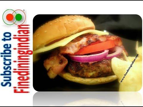How to Make Juicy Homemade Restaurant Quality Hamburger