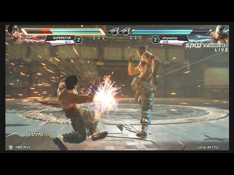 Tekken - Tekken Crash Returns!! 세계 최초 철권7 대회! 테켄 크래쉬 다시 돌아오다, 테켄 크래쉬 리턴즈! 1.28 수요일 오후 4시! SPOTV GAMES 생방송 채널 구독을...