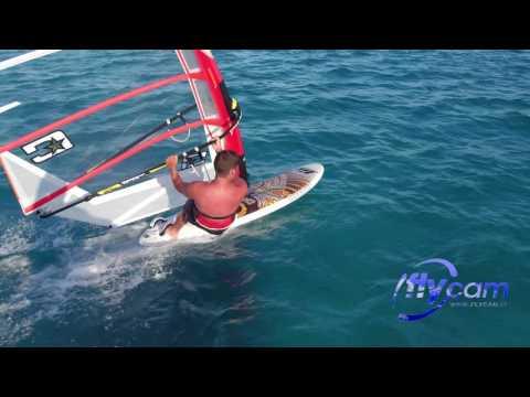 Drone Flycam - riprese aeree sul windsurf a Stintino