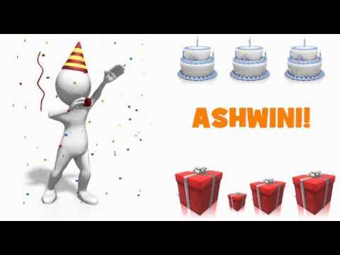 Video HAPPY BIRTHDAY ASHWINI! download in MP3, 3GP, MP4, WEBM, AVI, FLV January 2017