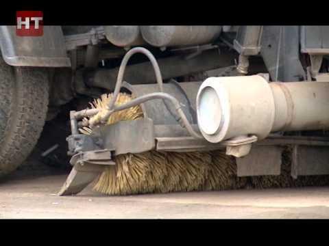 Нынешней зимой в Великом Новгороде Спецавтохозяйство планирует применять на дорогах соляной раствор