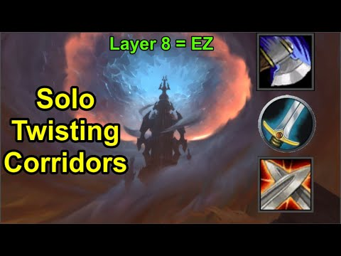 How to Solo Torghast Twisting Corridors as a Warrior [Guide  / Walkthrough]