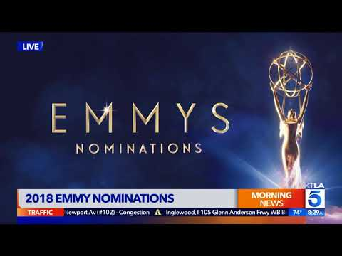 KTLA's Team Coverage at the 2018 Emmy Nominations