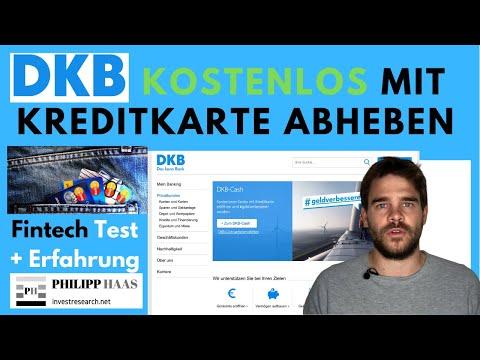 DKB Girokonto - Kreditkarte zum kostenlosen Geld abheben weltweit - Test und Erfahrung