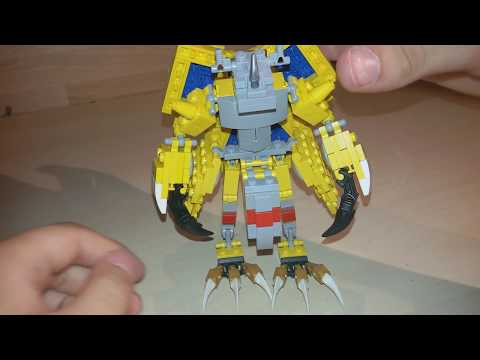 Lego DIGIMON ADVENTURE Agumon Zu Wargreymon