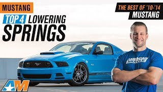 The 4 Best Mustang Lowering Springs For 2010 2014 Gt V6