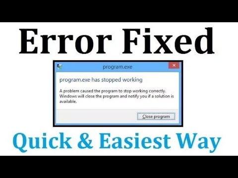 Fix .exe Has Stopped Working Windows 7/8/10 | Windows Explorer Has Stopped Working | Simple Way