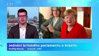 Jednání britského parlamentu o brexitu