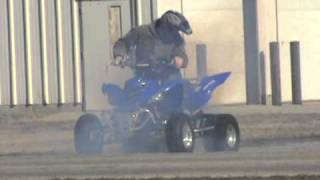 10. RAPTOR 700 WHEELIE / BURNOUT   BIG HORSEPOWER, SHREDDING