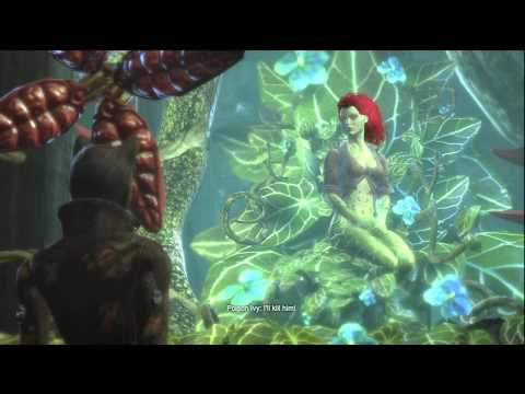 Batman Arkham City Posion Ivy, Possible clue to a 3rd game?