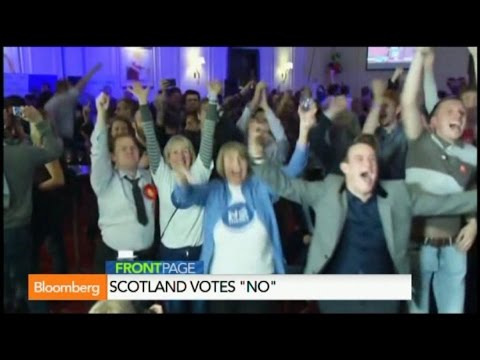 Scotland Votes No, Elects to Stay in United Kingdom