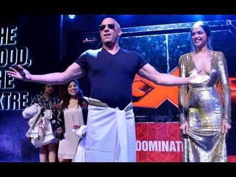 Video Deepika Padukone Teach Lungi Dance To Vin Diesel download in MP3, 3GP, MP4, WEBM, AVI, FLV January 2017