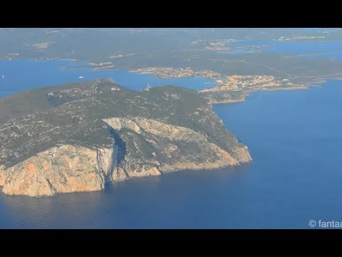 Landing at Olbia Costa Smeralda Airport - Sardinia HD