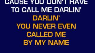 David Allan Coe - You Never Even Called Me By My Name karaoke