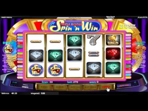 Triple Bonus Spin 'N Win Amaya