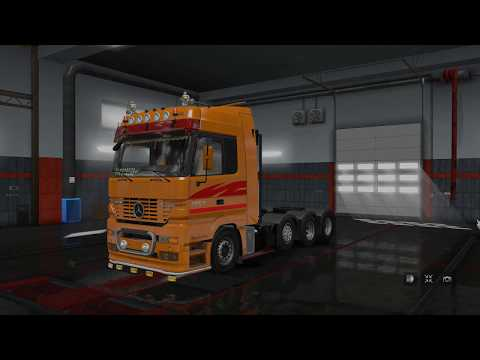 Mercedes Actros mp1 v1.0