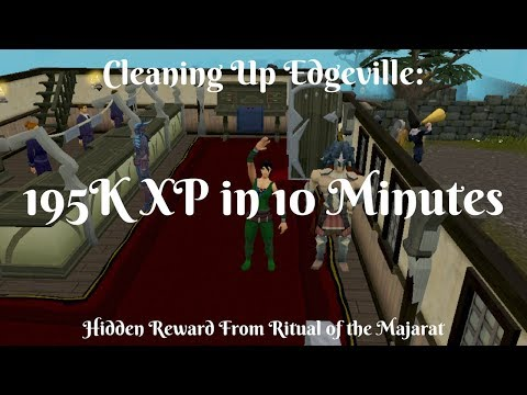 Cleaning Edgeville - 195K XP in 10 Minutes - Making Edgeville Great Again (видео)
