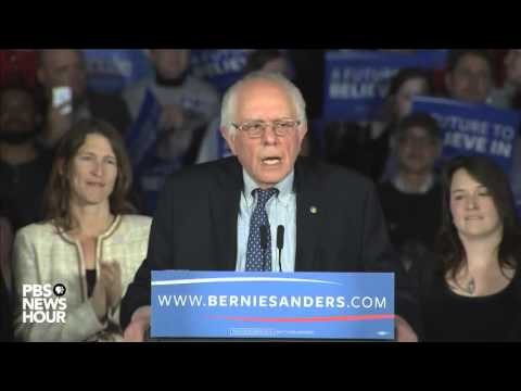 Bernie Sanders' full speech after Iowa caucuses