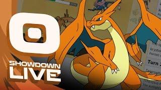 Pokemon Sun and Moon! OU Showdown Live w/PokeaimMD! MEGA CHARIZARD  Y by PokeaimMD