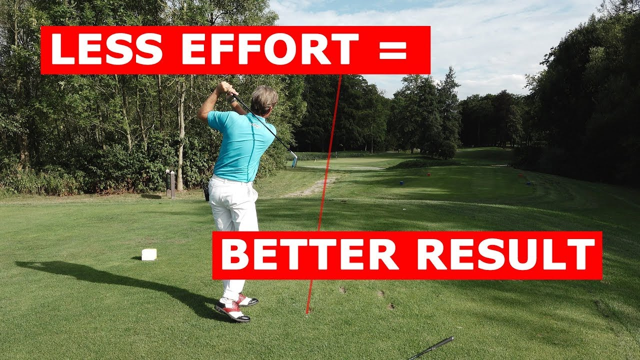 Effortless golf swing for better results - You don't want to miss this green!