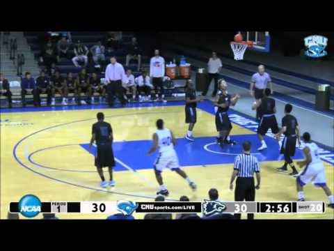 MBB: Christopher Newport vs. Wesley Highlights -  01.09.16