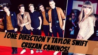 ¡One Direction y Taylor Swift Cruzan Caminos en Premios!!!!