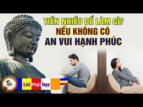 Tiền nhiều để làm gì nếu không có Hạnh Phúc - Nghe Lời Phật dạy để sống An Vui Hết Khổ - Thời lượng: 48 phút.