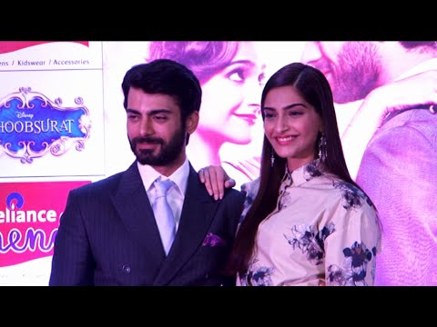 Sonam Kapoor Fawad Khan At Reliance Trends