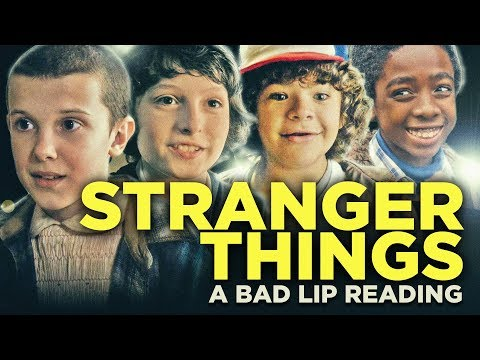 A Bad Lip Reading of Stranger Things