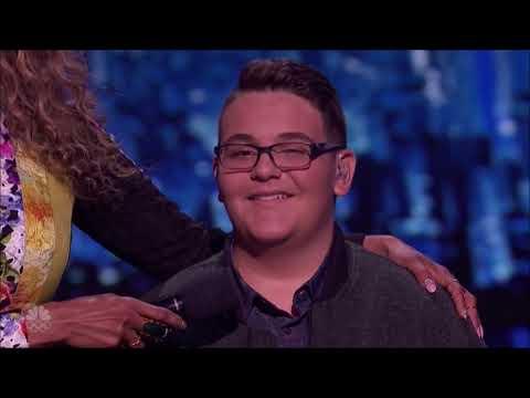 Christian Guardino: Howie's Golden Buzzer 'Makes It Rain' | Live Shows | America's Got Talent 2017
