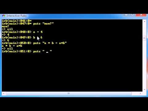 Ruby Programming Tutorial - 22 - Interpolation