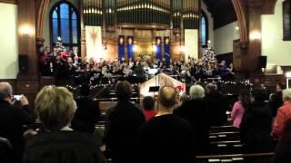 New Glasgow (NS) Canada  city pictures gallery : Hallelujah Chorus , First Presbyterian Church ,New Glasgow,NS Canada