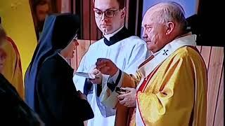 Msza święta w Świątyni Opatrzności Bożej #koronawirus #COVID19