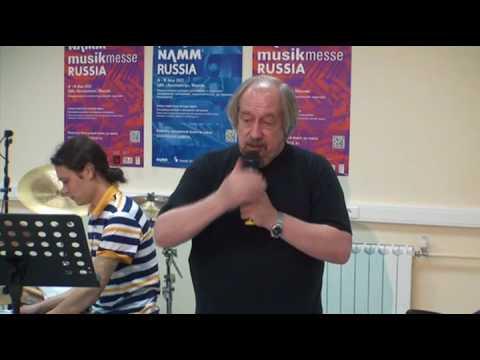 2012-May-18 Открытый урок А. Макурова (NAMM) (ч.1) / A. Makurov Demonstration Lesson (NAMM) (p.1)
